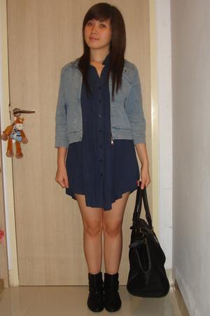 jacket - Gaudi shirt - Zara boots - Forever 21