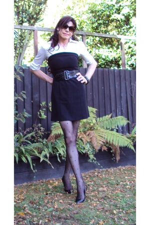black Mei Mei dress - black Dollhouse shoes