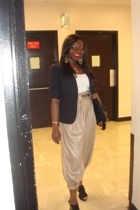 2nd Hand blazer - Express top - forever 21 pants - Steve Madden shoes