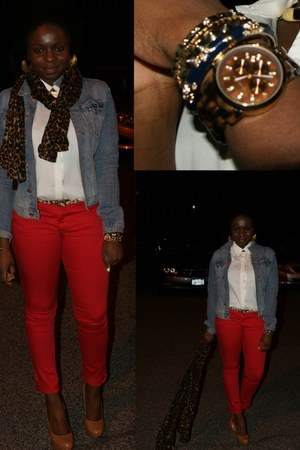 skinny jeans Target pants - Steve Madden shoes - Express shirt