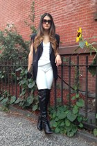 chocker vanessa mooney necklace - Altuzarra for target boots - Zara leggings