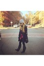 Fringe-koolaburra-boots-beanie-urban-outfitters-hat-calvin-klein-jacket