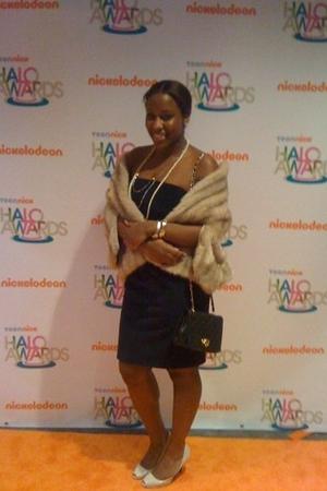 Club Monacob dress - thrifted jacket - Zara shoes - thriftedd purse