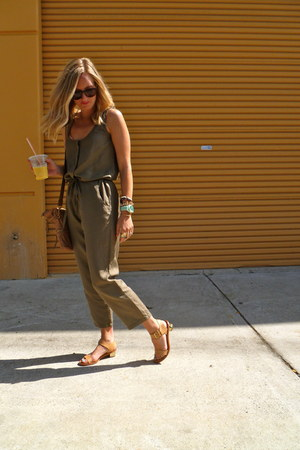 JCrew jumper - JCrew bag - sam edelman sandals - Anthropologie watch