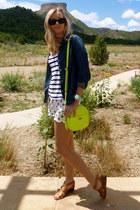 JCrew bag - Feed For Target shirt - Old Navy shorts - Gap sandals