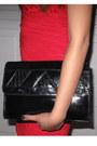 Red-red-dress-patent-leather-vintage-bag-suede-steve-madden-heels