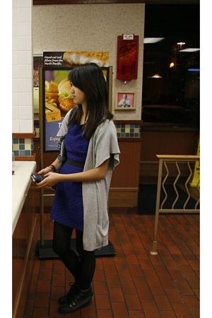 Gryson accessories - merona sweater - Esprit dress - Hot Topic belt - Old Navy s