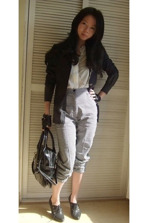 blouse - - jacket - pants -