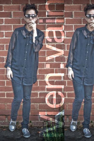 Manvious top - Cheap Monday jeans - Cheap Monday shirt