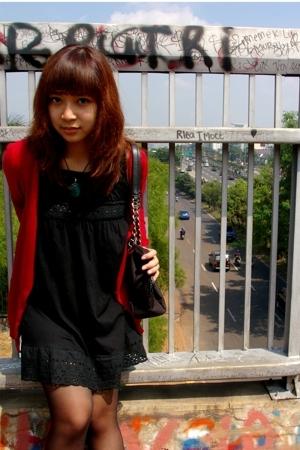 jacket - dress - necklace