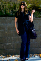 Silence  Noise shirt - Old Navy jeans - Jessica Simpson shoes - Kimchi&Blue purs