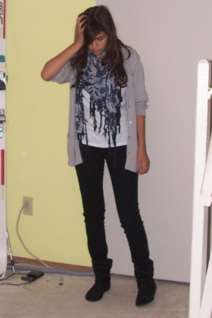 Sirens jeans - le chateau scarf - sweater - Smart Set shirt