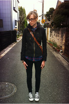 f21 jeans - index jacket - Gilly Hicks shirt