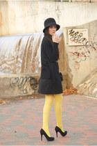dress - cardigan - heels