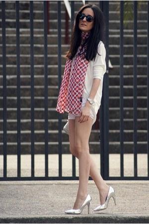 Zara shirt - Bershka heels
