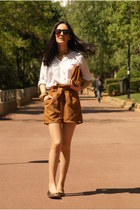 Sfera shorts - Pull & Bear shirt - Bershka bag