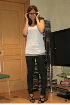 Mango shirt - C&C California shirt - Zara pants - Nine West shoes