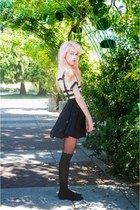 sailor Forever 21 shirt - scalloped Urban Outfitters tights - Choies skirt
