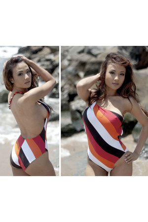 high fashion Meshalo swimwear