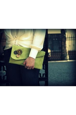 green Meshka Design accessories - green