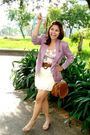 Purple-fasyonablemultiplycom-blazer-pink-ny-dress-brown-zara-belt-beige-ra