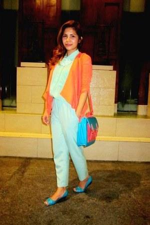 orange Greenhills Bazaar bag - orange Cuenca blazer