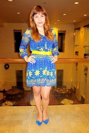 blue Bazaar dress