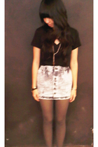 forever 21 t-shirt - skirt - forever 21 accessories