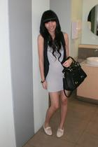 forever 21 dress - Topshop vest - shoes