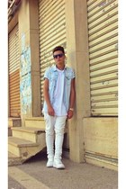 Zara shirt - nike sneakers - Zara pants - Zara t-shirt