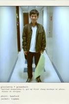 Topman jacket - H&M jeans - Converse shoes - Louis Vuitton