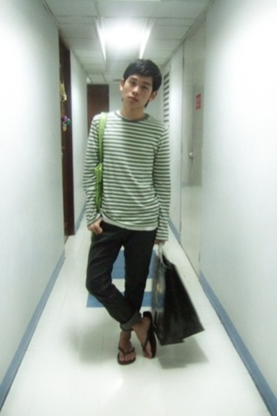 Topman shirt - Topman shirt - H&M jeans - Marc by Marc Jacobs purse