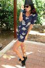 Floral-dress-h-m-shoes