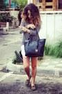 Charcoal-gray-knitted-forever-21-sweater-michael-kors-bag-black-bag