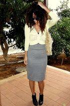 Mango skirt - H&M boots