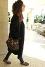 Velvet-thrifted-vintage-coat-black-vintage-coat