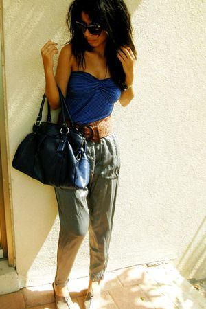 Zara pants - vintage sunglasses
