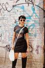 Marshalls-shirt-forever-21-skirt-goodwill-purse