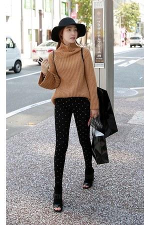 MIAMASVIN boots - brown MIAMASVIN sweater - black MIAMASVIN pants