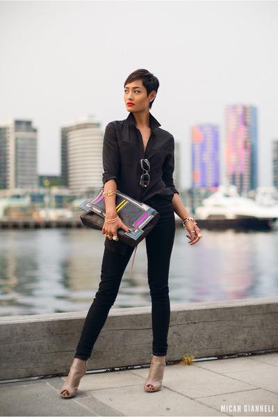 black Barbara Bonner bag