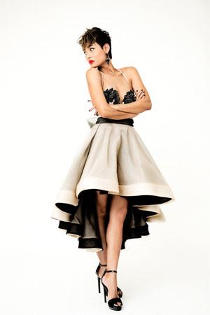 beige Philippa Galasso dress