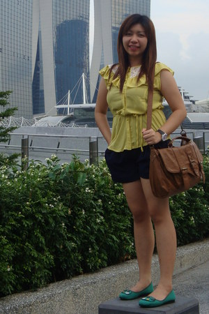 yellow blouse thailand blouse