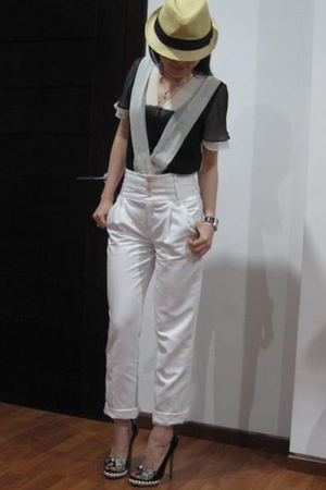 LAMB top - Zara pants - Nicholas Kirkwood shoes