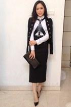 bcbg max azria belt - Zara skirt