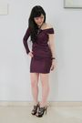Purple-alexwang-dress-black-nkirkwood-shoes
