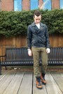 Black-biker-31-phillip-lim-jacket-brown-prada-boots-olive-green-levis-jeans