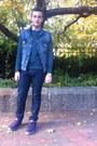 Levis-jeans-gingham-jcrew-shirt-denim-levis-vest-crewneck-h-m-sweatshirt