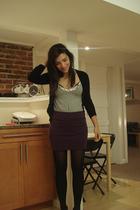 Jacob blouse - Sirens skirt - Urban Behaviour sweater - stockings