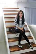 sm accessories tights - Zara skirt