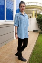 denim Essential Teens top